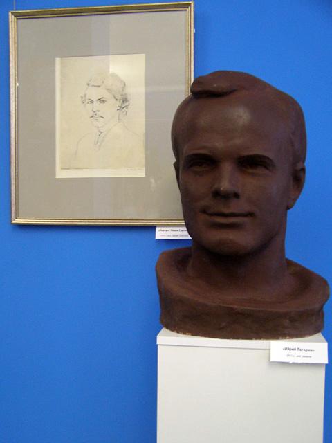 Юрий Гагарин, скульптура Валентина Белова
