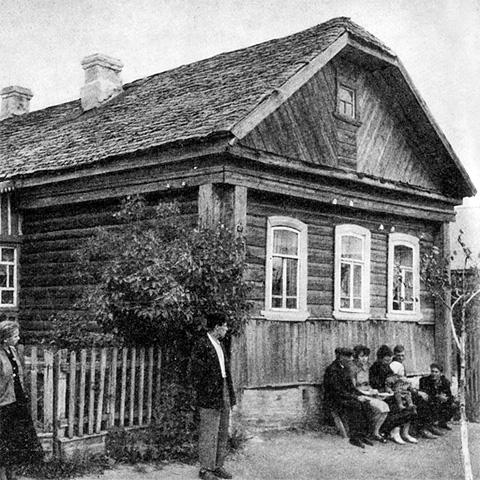 дом гагарина в гжатске