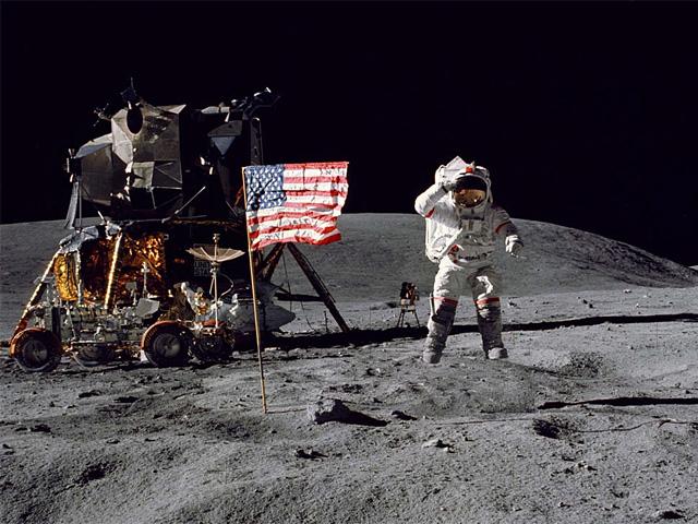 «Орион» на Луне, апрель 1972