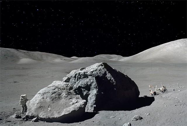 Харисон Шмитт и лунный «камень преткновения»